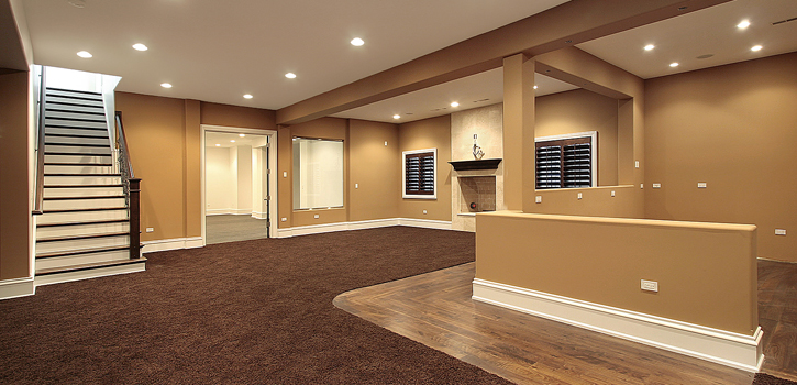 Basement Finishing Contractor Moore Oklahoma.